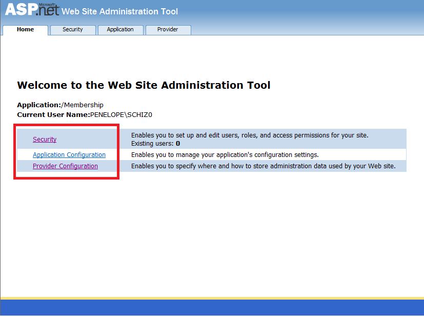 ASP.NET Configuration